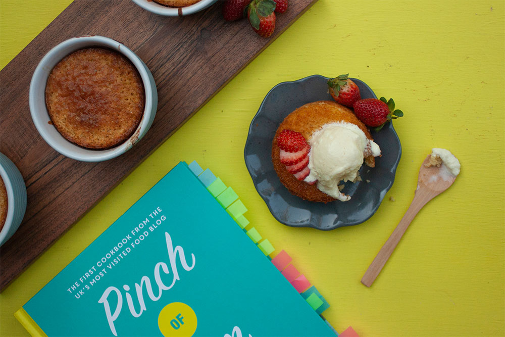 A Sticky Toffee Pudding by Pinch of Nom the Cookbook