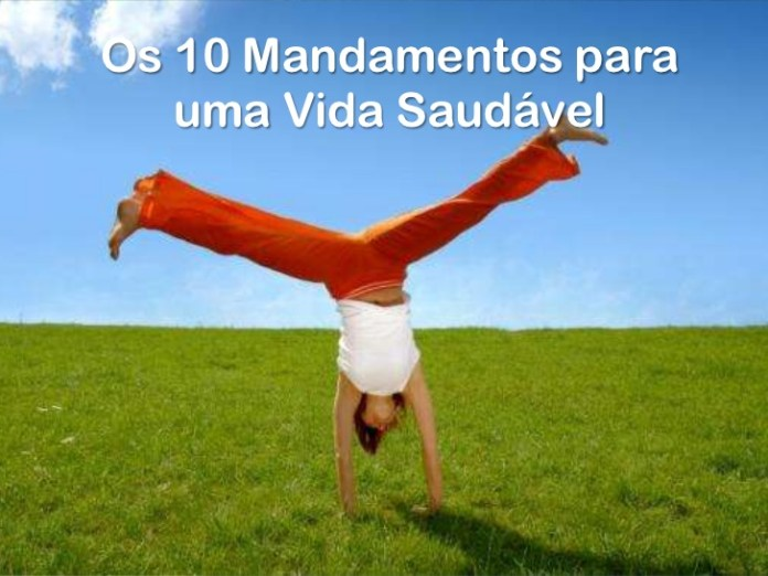 10 mandamentos vida saudavel