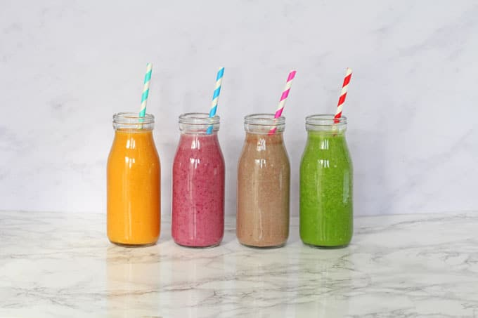 snack saudável Smoothies