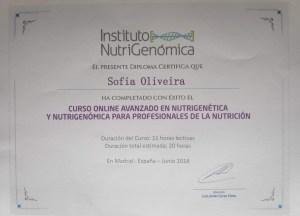Nutrigenómica Avançado