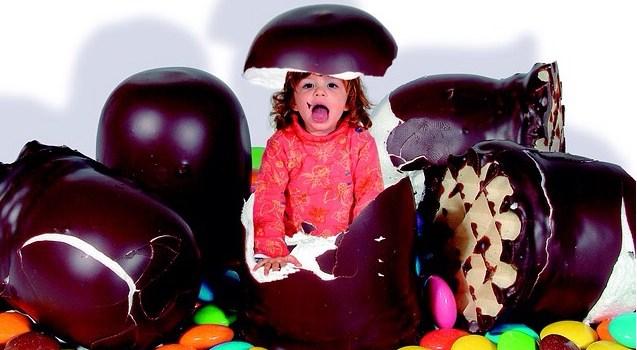 Menús infantiles = pasta, pizza, dulces…
