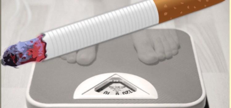 ¿Si dejo de fumar, aumentaré de peso?