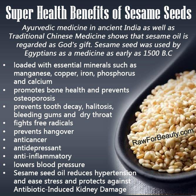 benefits sesame
