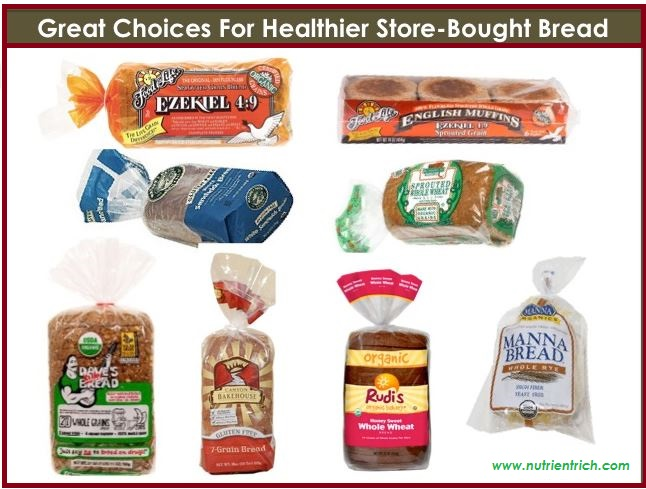 healthiest breads