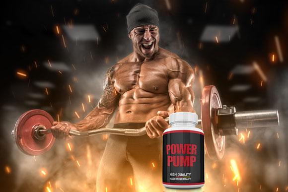 Power-Pump-Muskelaufbau-Explosion