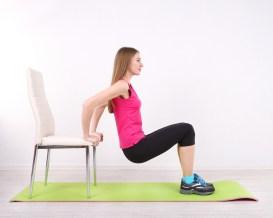 9 exercices Fitness et musculation à réaliser avec une chaise !