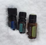 ess oils for aches