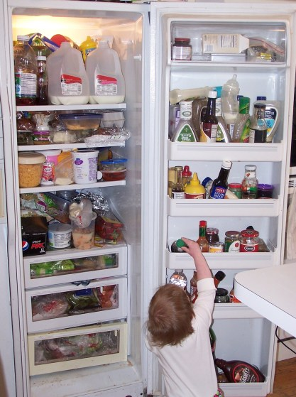 clear out the fridge