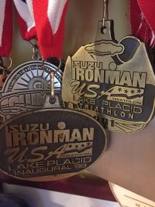 ironman LP finsher medals