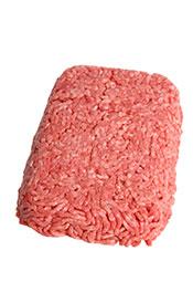 Raw Ground Beef.