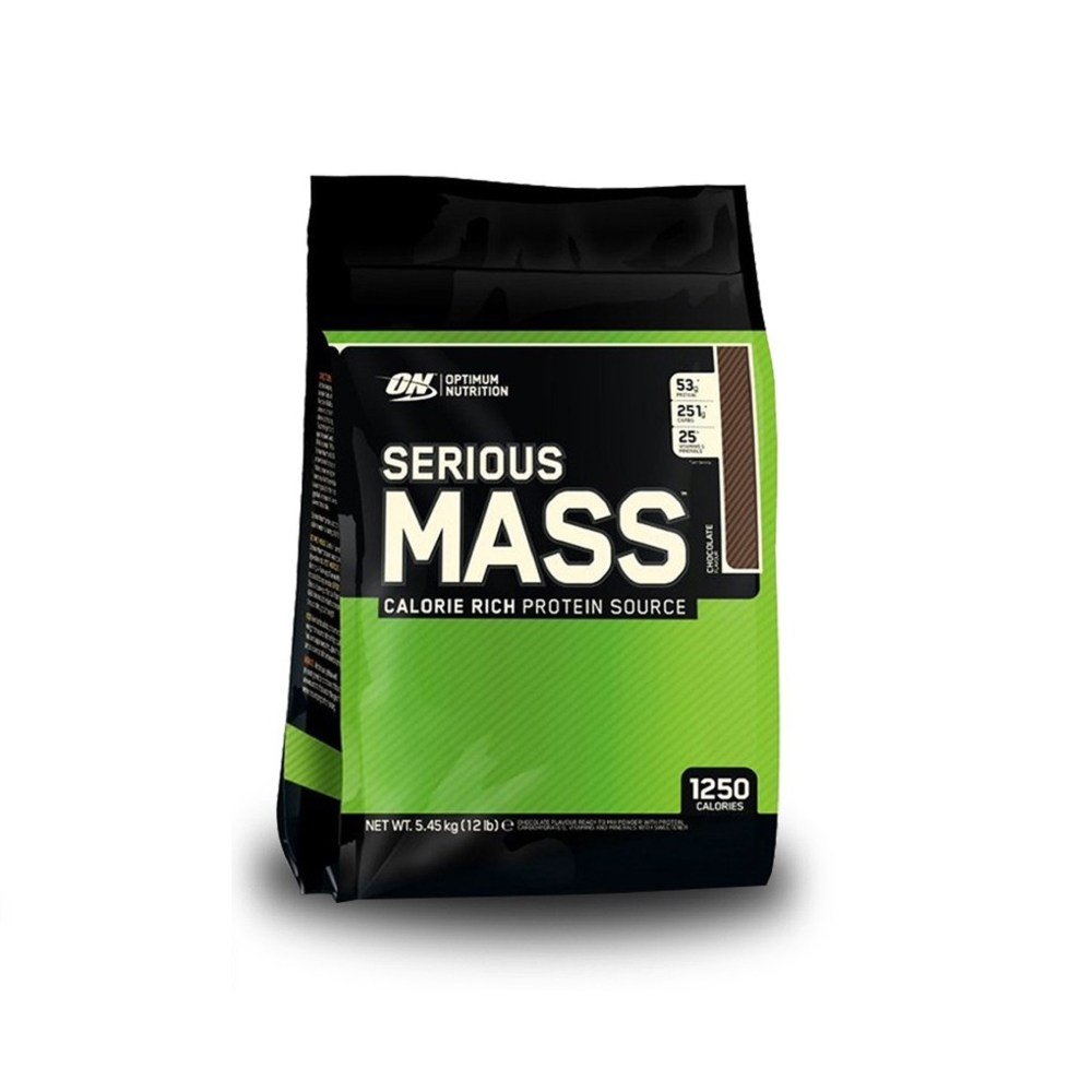 Optimum Nutrition Serious Mass Chocolate 12Lbs