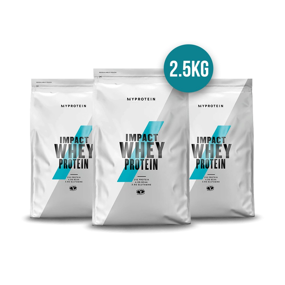 MyProtein Impact Whey Protein 2.5kg available at Nutrition Depot Philippines