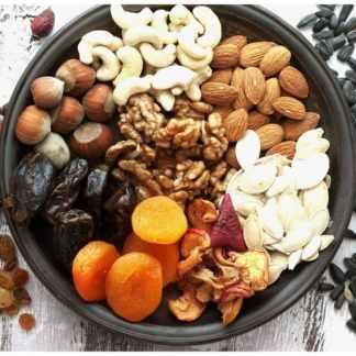 Ekologiska nötter, fröer & torkad frukt