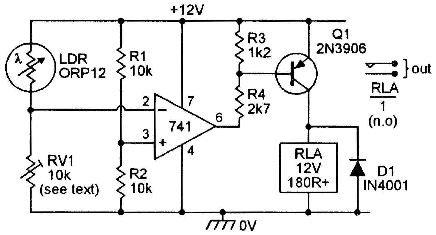 Light Sensitive Circuits