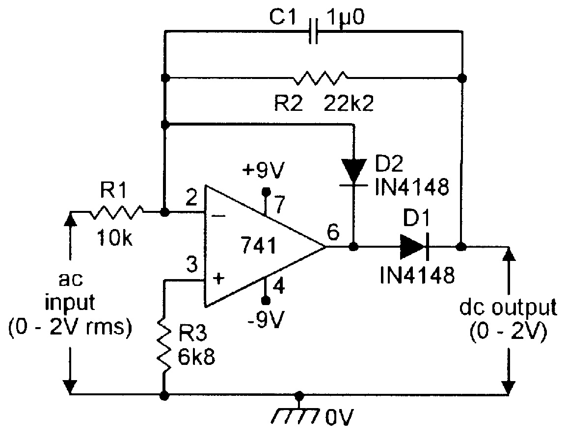 Op Amp Pin Diagram
