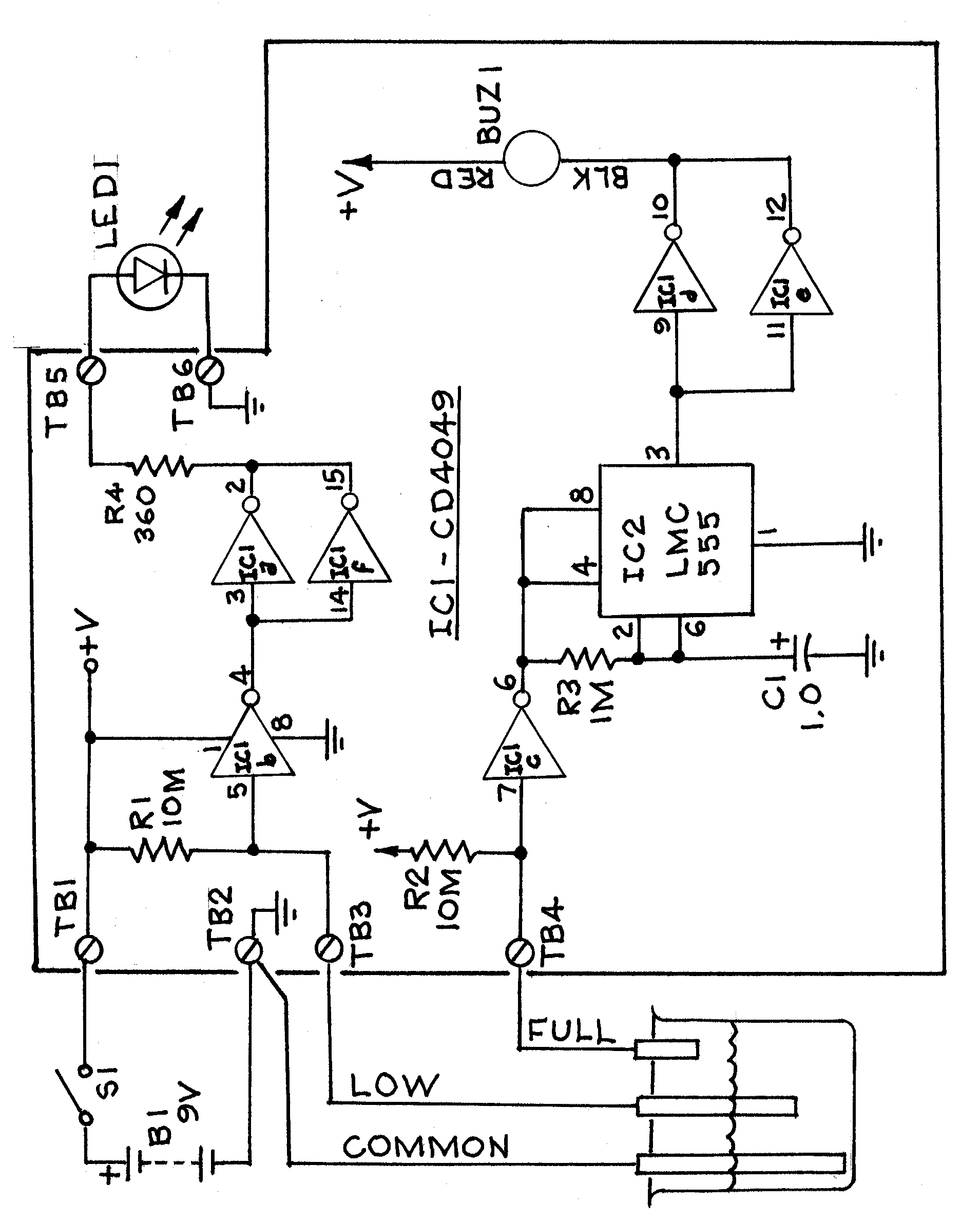 Amazing how it works with buzzer circuit diagram