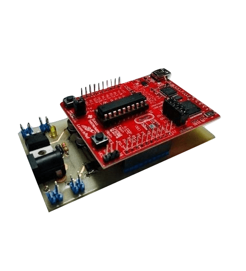 Customized IOT Board with inbuilt GPRS/ GSM Modem and TI-Launchpad MSP430