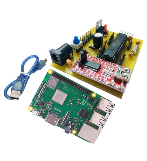 Customized Raspberry PI 3B board with builtin Atmega328 with USB Serial  Communication | | NUTTY ENGINEER