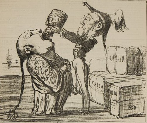 Image result for china and the opium wars