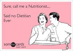Dietitians vs nutritionist