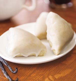 vanilla scone