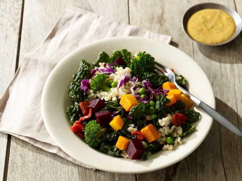 My favorite kale and brown rice salad. Image from blogs.starbucks.com