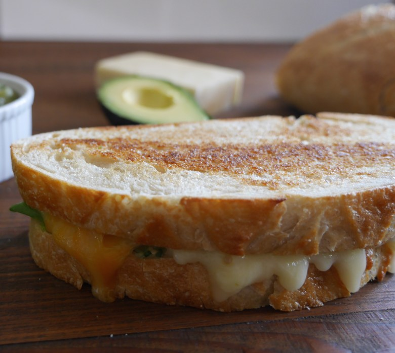 Gourmet Grilled Cheese www.nuttynutritionandfitness.com
