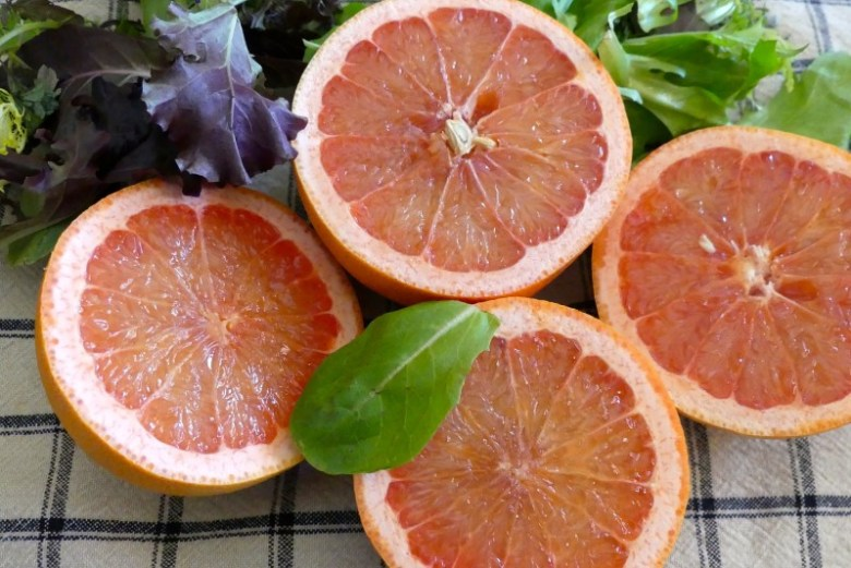 Grapefruit is in it's peak season right now! Look at how juicy and flavorful they are!