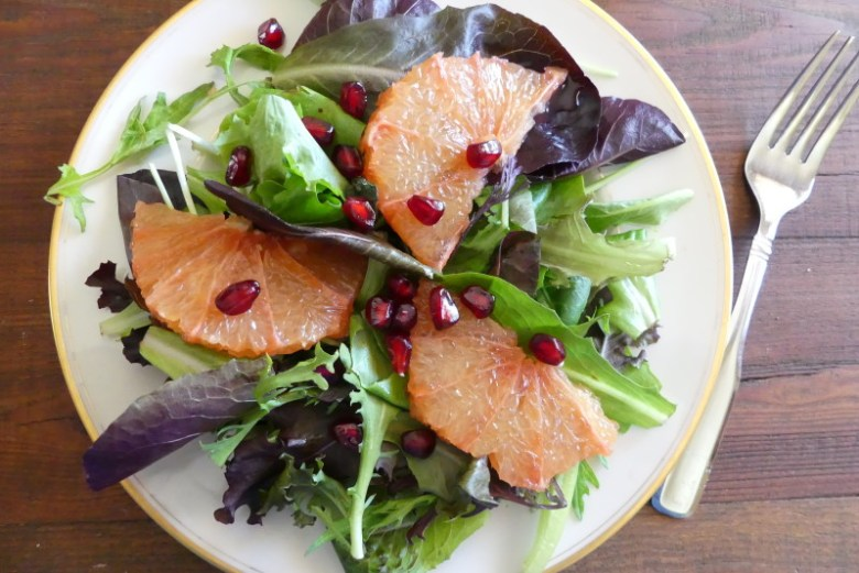 Grapefruit and Toasted Walnut Salad