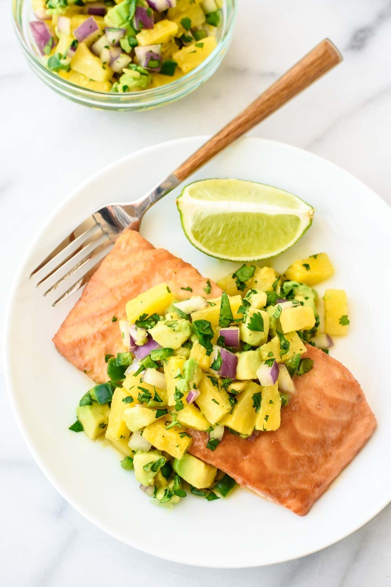 Pineapple-Glazed-Salmon-Recipe