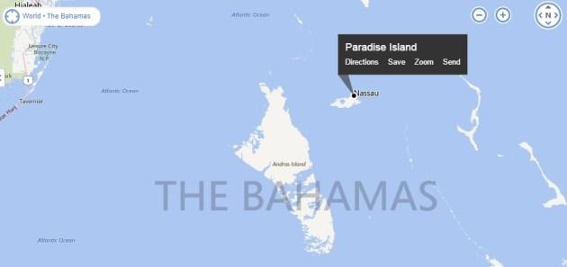bahama map