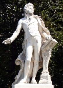 Mozart Statue - Viktor Tilgner