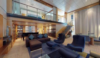 Oasis of the Seas- Royal Loft Suite 3D Model