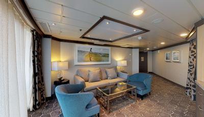 Oasis of the Seas- Spacious AquaTheater Suite-1 Bedroom 3D Model