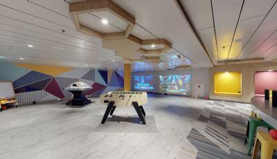 Oasis of the Seas- Adventure Ocean Game Room 3D Model