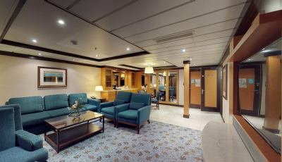 Oasis of the Seas- Owner's Suite-1 Bedroom 3D Model