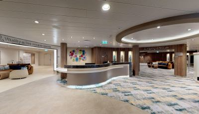 Symphony of the Seas- Vitality Fitness and Spa 3D Model