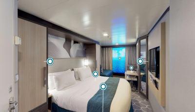 Symphony of the Seas – Interior with Virtual Balcony 3D Model