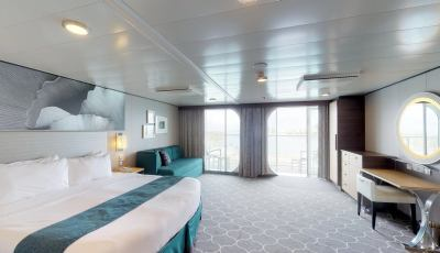 Symphony of the Seas – Ultra Spacious Ocean View with Large Balcony 3D Model