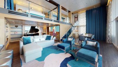 Symphony of the Seas – Royal Loft Suite 3D Model