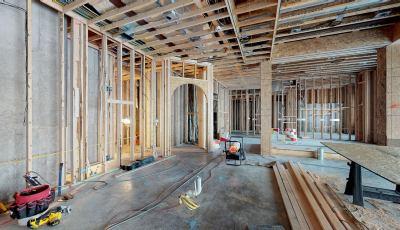 House Under Construction 3D Model