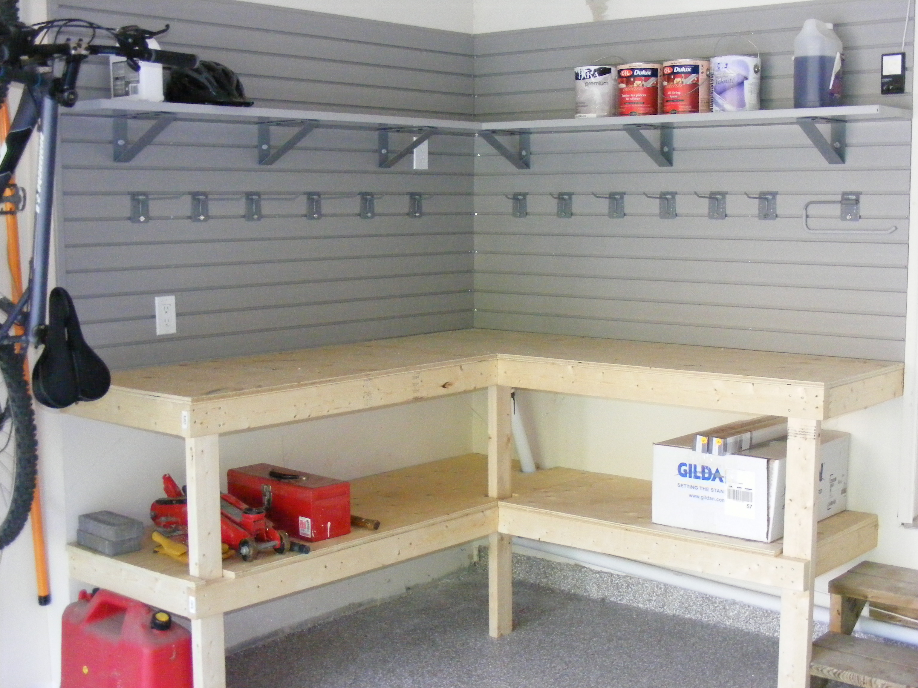 Work Stations Amp Workbenches Nuvo Garage
