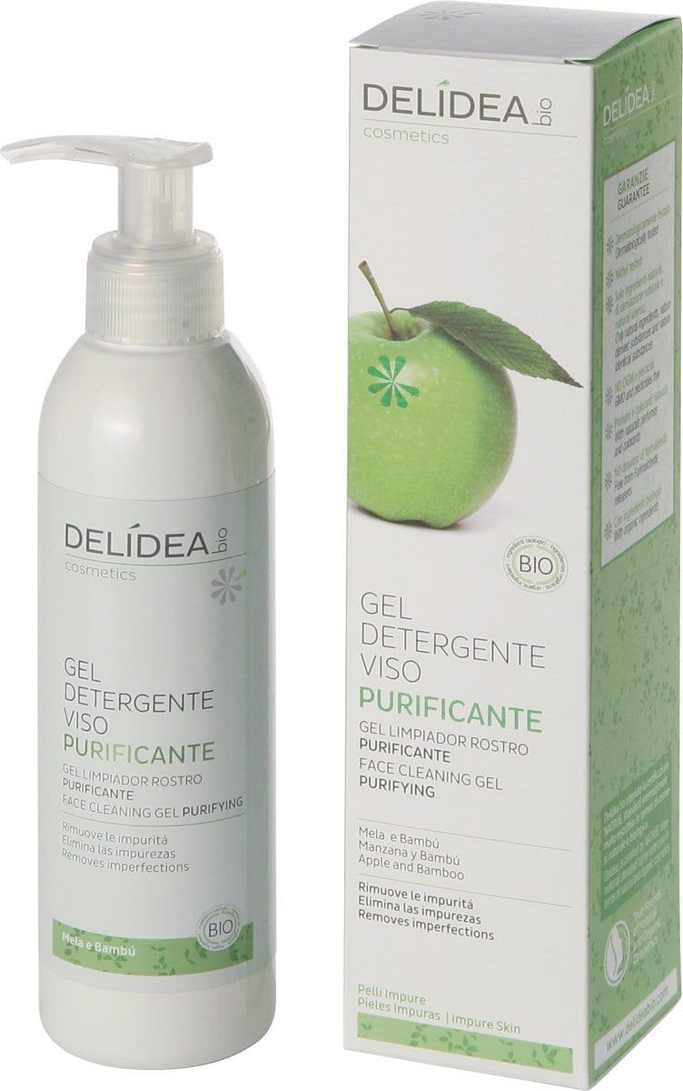 Delidea Gel Detergente Viso Mela & Bambù Bio