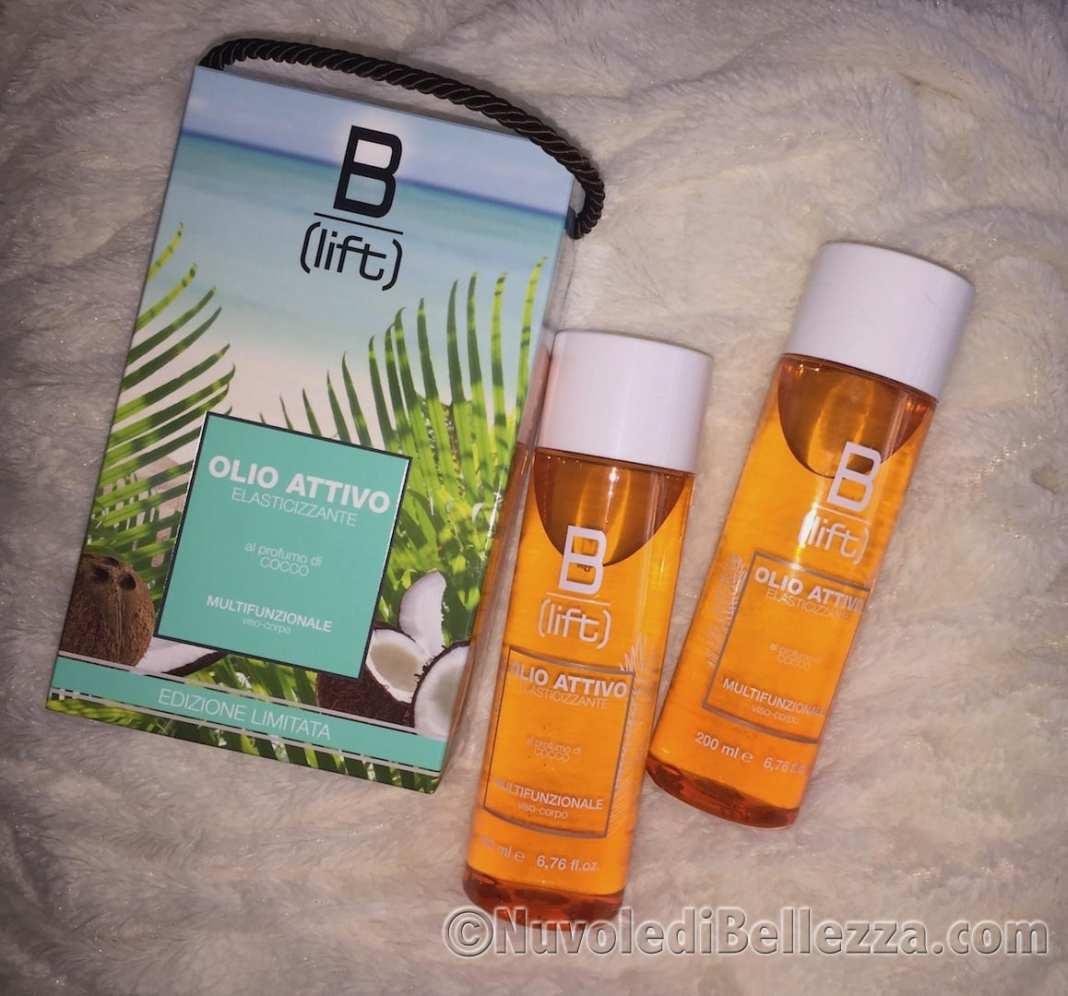 Syrio B-Lift, olio attivo elasticizzante al Cocco