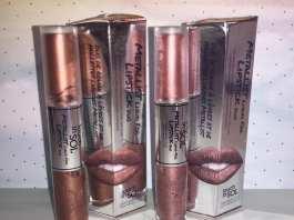 Touch in Sol Rossetti Metallist Liquid Foil Lipstick Duo