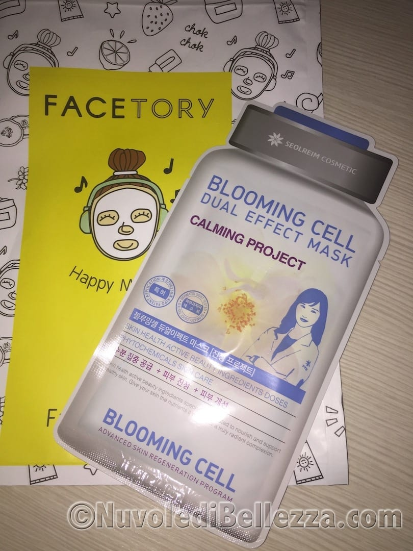 Blooming Cell Calming Project Dual Effect Mask