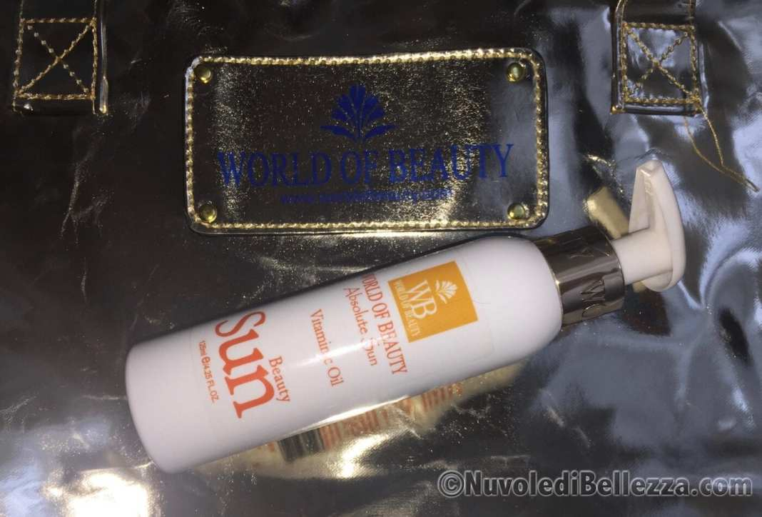 World of Beauty Vitaminic Oil