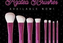 Azalea Brushes Neve Cosmetics