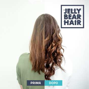 Jelly Bear Hair Prima e Dopo