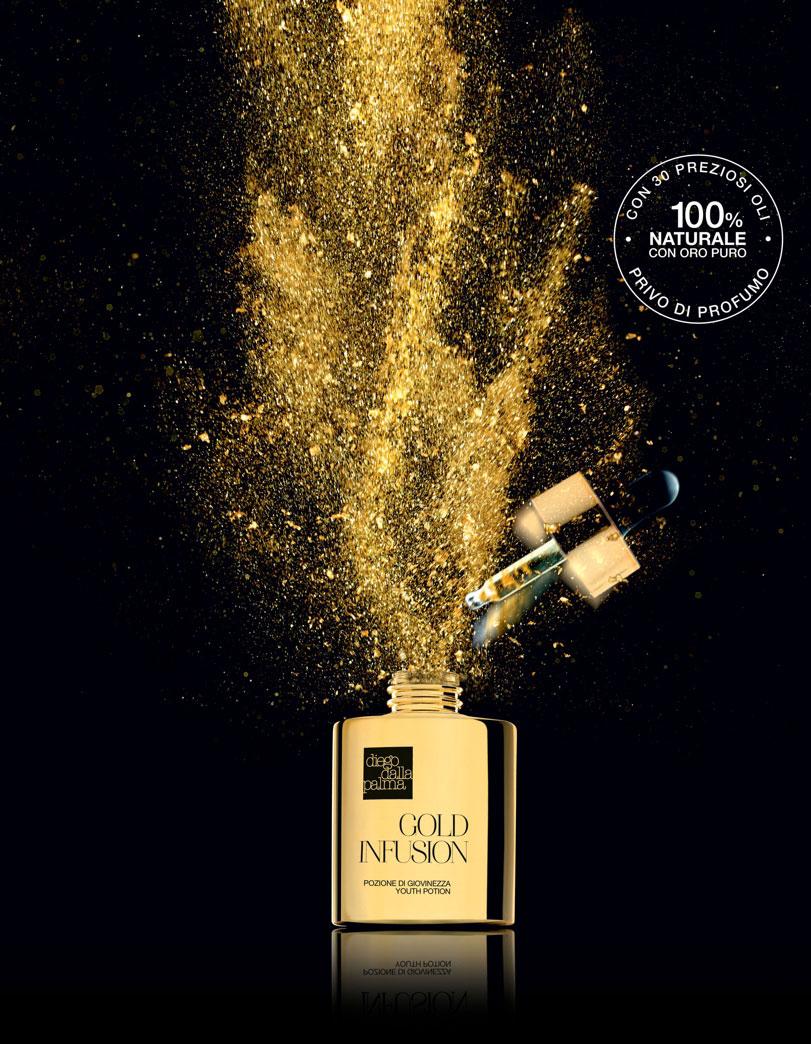 Siero Gold Infusion Diego Dalla Palma, con Oro Puro e 30 Oli Naturali Ecobio
